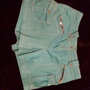 Cache Skort Turquoise 12